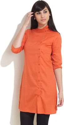 Buy Nun Solid Women's Tunic... Stylish front-buttoned wear... good for nursing mothers.