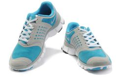 online store 3a906 16688 Womens Nike Free 5.0 V4 Suede Grey Skyblue  Blue  Womens  Sneakers