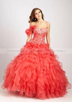 Ball gown Quinceanera dress