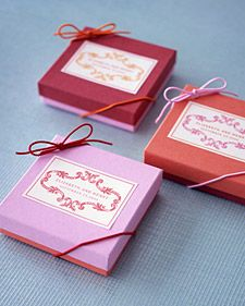 From soft and romantic to bold, here are some of our favorite wedding decoration and favor ideas in pink and red.