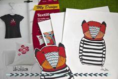 Lila-Lotta.com /Mit den Zweckform Textilfolien einfach selbst ganz individuelle T-Shirts, Geschenke oder Dekorationen kreieren