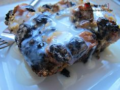 po' man meals cookies and cream bread pudding #pudding #cream #cookies
