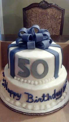 50th birthday cake. Deb's