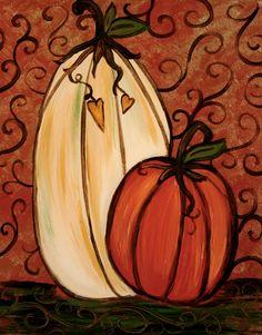 Craft pumpkin