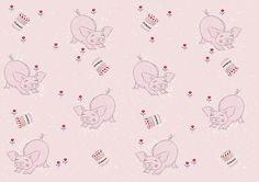Tiny Pigs By Popink Illustration