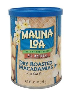 Mauna Loa Macadamias Dry Roasted with Sea Salt 45 Ounce Container ** Check out this great product.