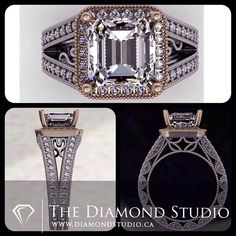 white gold and rose gold. The centre will feature a 2.70ct