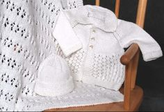 This pattern is beyond stunning. I've made it for several babies. (Cabin Fever)