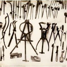Surgical tools from Pompeii Strumenti chirurgici da Pompei