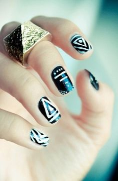 We love these seriously amazing nail art ideas!