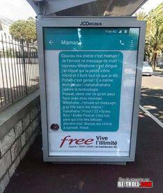 Free fait de bonnes publicités... - Be-troll - vidéos humour, actualité insolite
