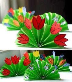 Sweet home : Lilleline voldik. Baby Crafts, Preschool Crafts, Diy And Crafts, Crafts For Kids, Arts And Crafts, Spring Art, Spring Crafts, Spring Activities, Garden Theme