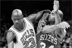 MJ vs Charles Barkley
