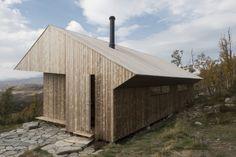 La cabane Ustaoset en Norvège par l'architecte Jon Danielsen Aarhus - Journal du Design