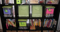 Workbox System for homeschooling families.