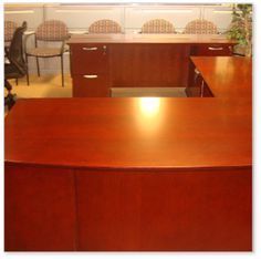 CALL US FOR YOUR LOWEST PRICE L SHAPE DESK WITH CREDENZA IN MAHOGANY.. http://theofficefurniturestore.com/item/lshapedeskwithcredenzainmahogany
