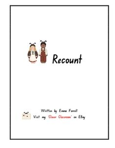 How to write an excellent recount