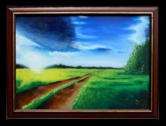 """Going home"" 50x70 oil painting"