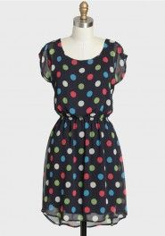enjoy the moment polka dot dress