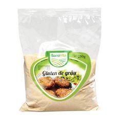 Gluten de grau, 250 g, Sanovita[6420106555534]