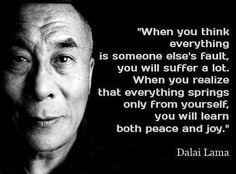 Dalai Lama ~ Mindfulness