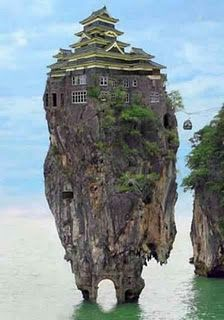 I want MY house on a giant effing rock!!!