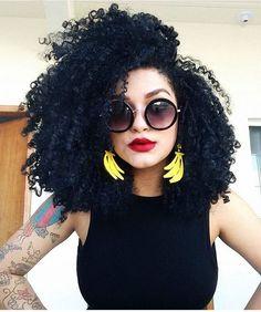 Natural Hair Look Book Curly Afro Hair, Long Curly Hair, Big Hair, Curled Hairstyles, Afro Hairstyles, Updo Hairstyle, Cabelo 3c 4a, Natural Hair Styles, Short Hair Styles