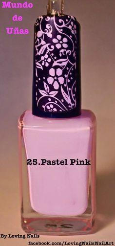 #25 Pastel Pink