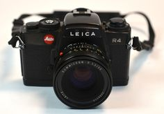 """Sad when a Leica R4 is listed as a """"decorative item"""" in an auction list...  This one has a lens """"made in Canada"""" - didn't know Leica did that.  I wonder how much it went for as a """"decorative item""""..."""