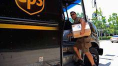 Entrega da UPS