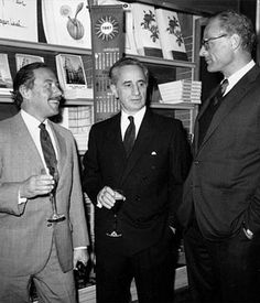 Tennessee Williams,  Elia Kazan and Arthur Miller, 1967 - plays and films worth watching!