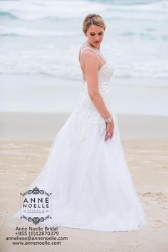 A unique, beautiful and ethical wedding dress for a beautiful bride.
