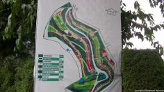 Layout map of the Rose Garden, Ooty.