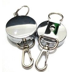 2pcs/Lot Fly Sea Fly Fishing Retractor on Corrosion Protection with one Zinger…