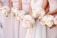 Modern Day Floral and Events Grand Rapids, MI Karen May Photography #bouquet #roses #pink #ceremony #Floral #Flowers #Blush #weddingdecor #weddingideas #white #romantic #wedding #bride #bridal