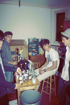 A party at Lispenard Street.