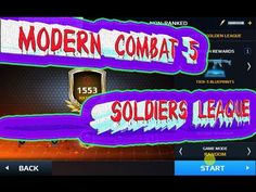 Modern Combat 5  SOLDIERS LEAGUE
