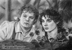 Sam & Frodo by Veronika Hofmann [©2011-2014 Verlisaerys]