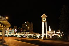 Festival of Lights and parade are the day after Thanksgiving.  Join us at The Roosevelt Inn~www.therooseveltinn.com