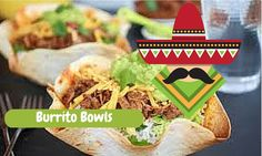 Foodoppi burrito bowls are so delicious and a fun meal for kids to eat!