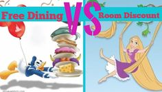 Disney World Free Dining Versus Room Discount - Which Should I Choose