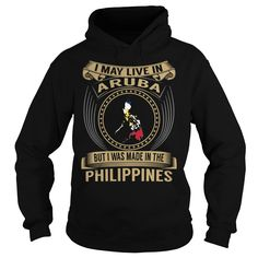 Live in Aruba - Made in the Philippines - Special T Shirts, Hoodies. Check price ==► https://www.sunfrog.com/States/Live-in-Aruba--Made-in-the-Philippines--Special-Black-Hoodie.html?41382 $39.99