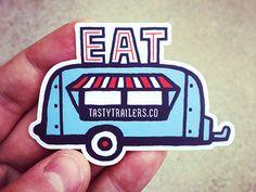 tasty trailer stickers.