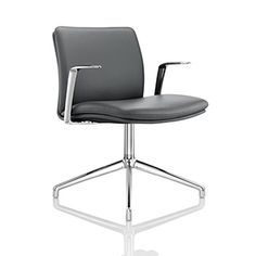 The smooth, organic curves and sprung frame of Tokyo guarantees a relaxed sitting experience. The soft padding adds extra comfort, while its fine seam patterned upholstery and striking sleek chrome arms demonstrate the hallmarks of Boss Design.