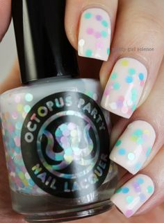 Pretty Girl Science: Octopus Party Spring 2014