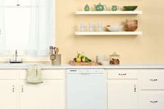 15 Colors We Love for the Kitchen: Kitchen Paint: Clean, Simple