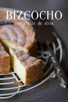 bizcocho con aceite de oliva - olive oil cake ♯cake ♯oliveoil
