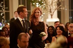 Gabriel Macht and Sarah Rafferty in Suits Serie Suits, Suits Tv Series, Suits Tv Shows, Suits Usa, Women's Suits, Sarah Rafferty, Gabriel Macht, Meghan Markle, Suits Season 7
