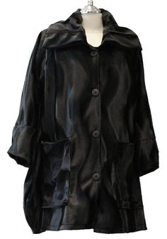 AKH Fashion Lagenlook Jacke XL-XXL Winter Kunstpelz. Lagenlook Mode - Layering Fashion bei http://lafeo.de/shopping/modeolymp/