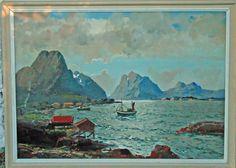 FINN – R. Steinnes, olje på lerret
